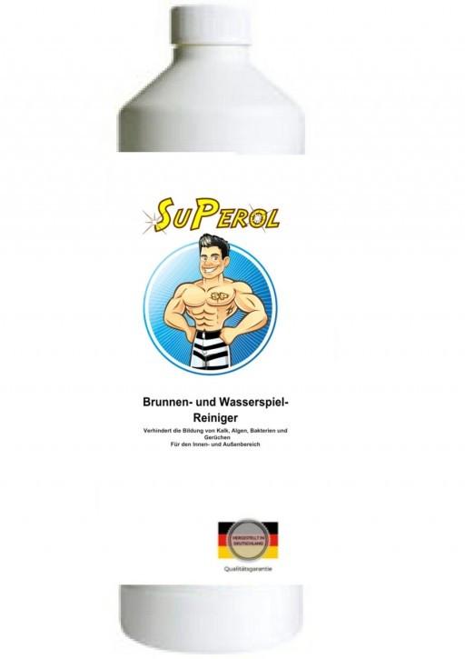 Superol - Brunnen- und Wasserspiel Reiniger, 500 ml