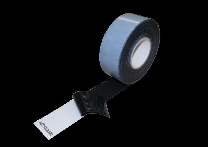EPDM Fugenband selbstklebend 130mm / 20m (Stärke: 0,8mm)