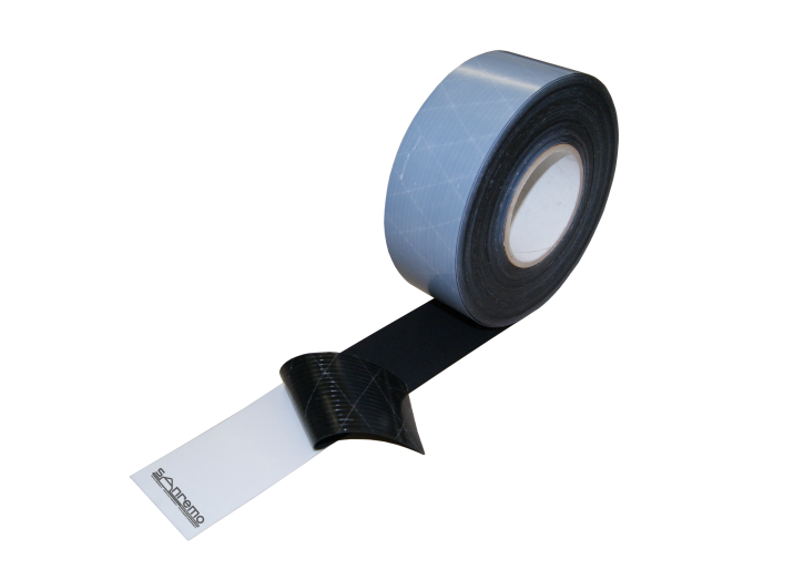 4x EPDM Fugenband selbstklebend 70mm / 20m (Stärke: 0,8mm)