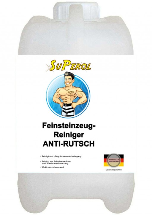 Superol - Feinsteinzeug-Reiniger - Anti-Rutsch, 5 Liter