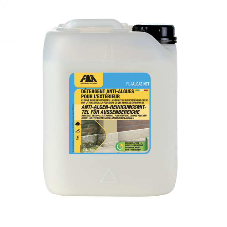 4x Fila Algae Net Algenbekämpfungsmittel 5 Liter