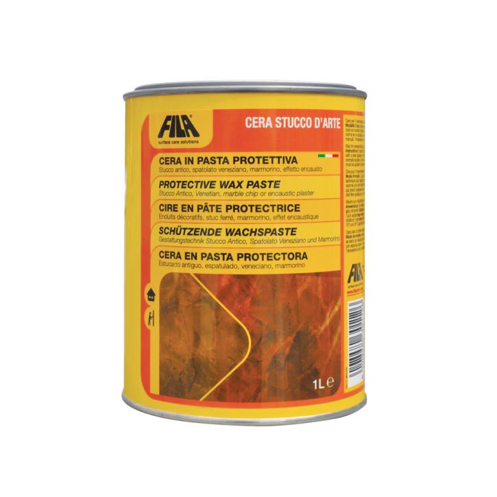 12x Fila Cera per Stucco D`Arte Schutzwachs 1 Liter