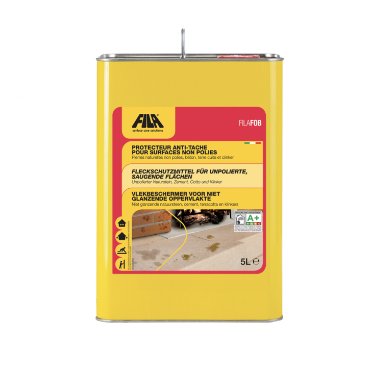 4x Fila FOB lösemittelhaltiges Fleckschutzmittel 5 Liter
