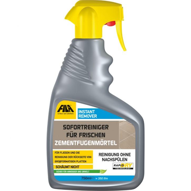 Fila Instant Remover 750ml für frischen Zementfugenmörtel
