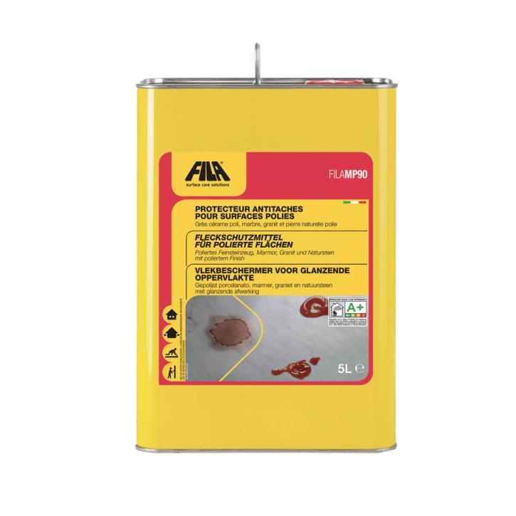 4x Fila MP90 lösemittelhaltiges Fleckschutzmittel 5 Liter