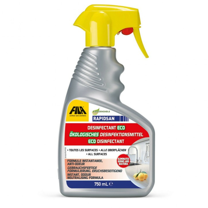 Fila Reinigung & Desinfektion - Cleaner Pro 1l & Rapidsan 750ml