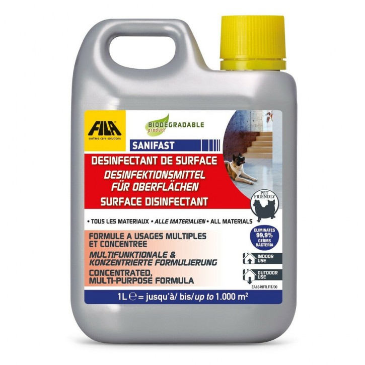 Fila Sanifast - Desinfektionsreinigung 1 Liter