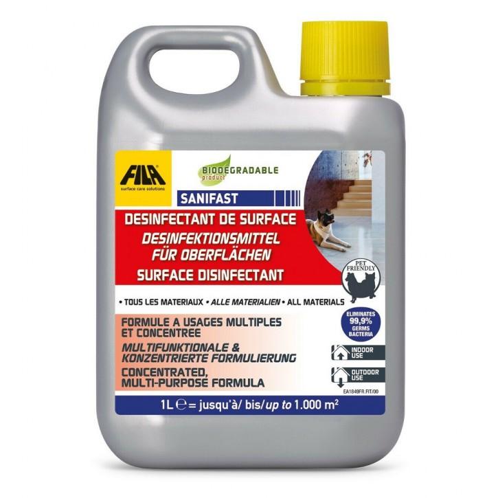 Fila Reinigung & Desinfektion - Cleaner Pro 1l & Sanifast 1l