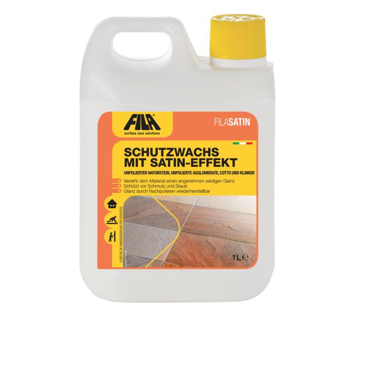 4x Fila Satin Satinwachs 5 Liter