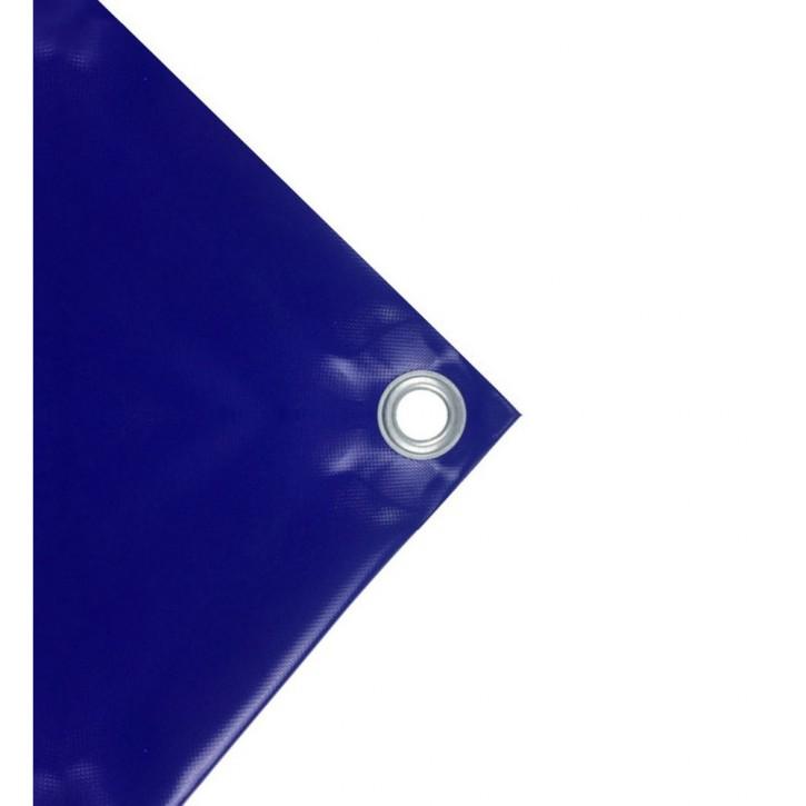 PVC-Plane 570 g/qm 8x10m Blau
