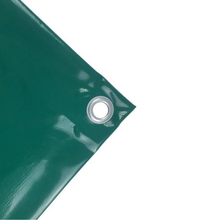 PVC-Plane 570 g/qm 4x6m Grün