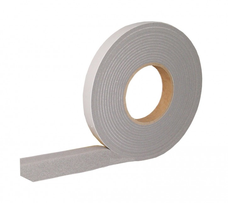 24x Kompriband Fugendichtband: B300 12m Rolle 20mm Breite Fugenbreite 3-6mm Farbe: Grau