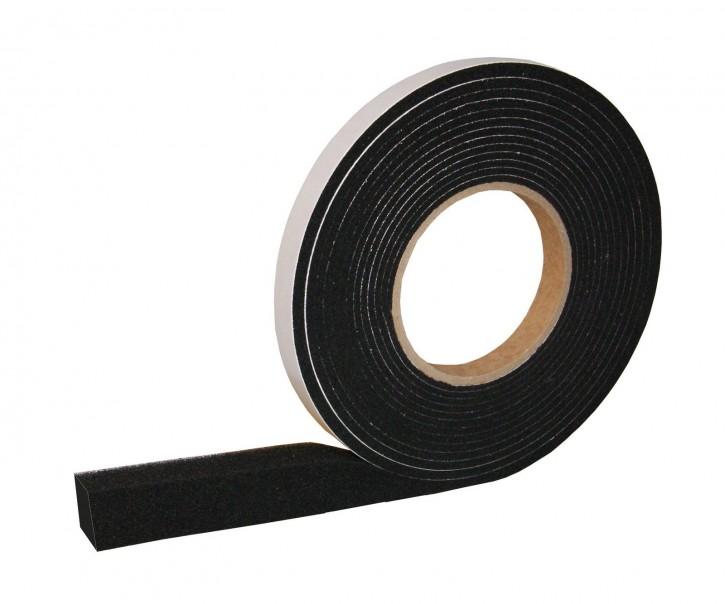 24x Kompriband Fugendichtband: B300 12m Rolle 20mm Breite Fugenbreite 3-6mm Farbe: Schwarz