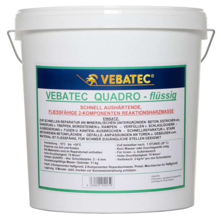 Vebatec - Quadro flüssige Reparaturmasse gießfähig