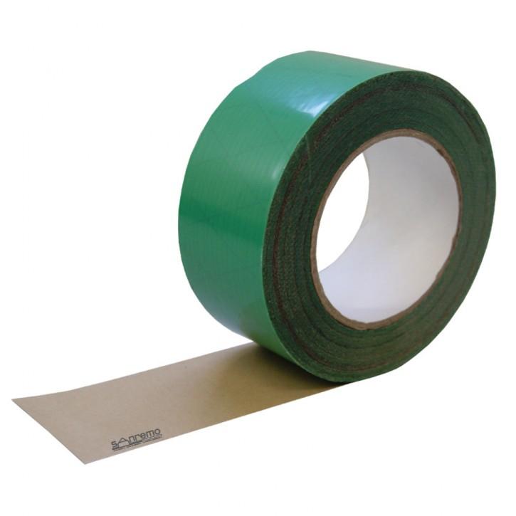 Klebeband für Dampfbremsfolie / Dampfsperre im Außenbereich. KP Tape 1 Grün außen 60mm 25m