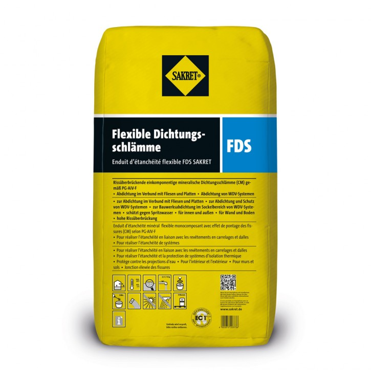 Sakret Flexible Dichtungsschlämme FDS 15kg