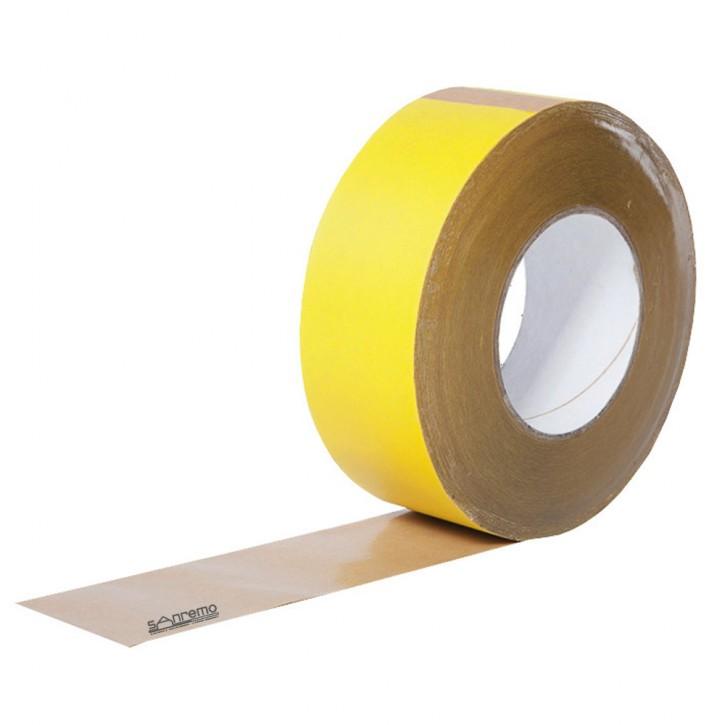 Klebeband für Dampfbremsfolie / Dampfsperre im Innenbereich. KP Tape 2 Gelb innen 60mm x 40m