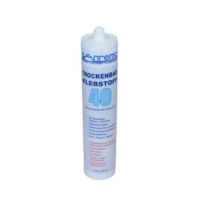 Sanremo4you Trockenbau-Klebstoff 40