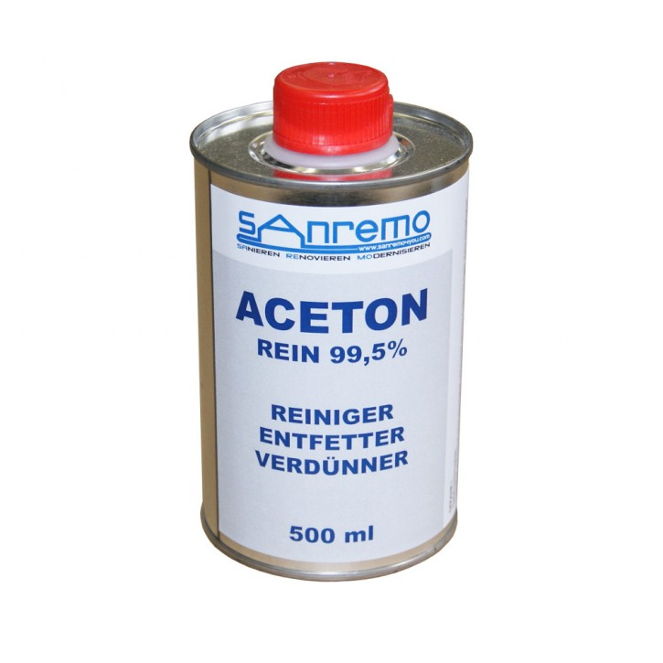 Sanremo4you Aceton 500ml