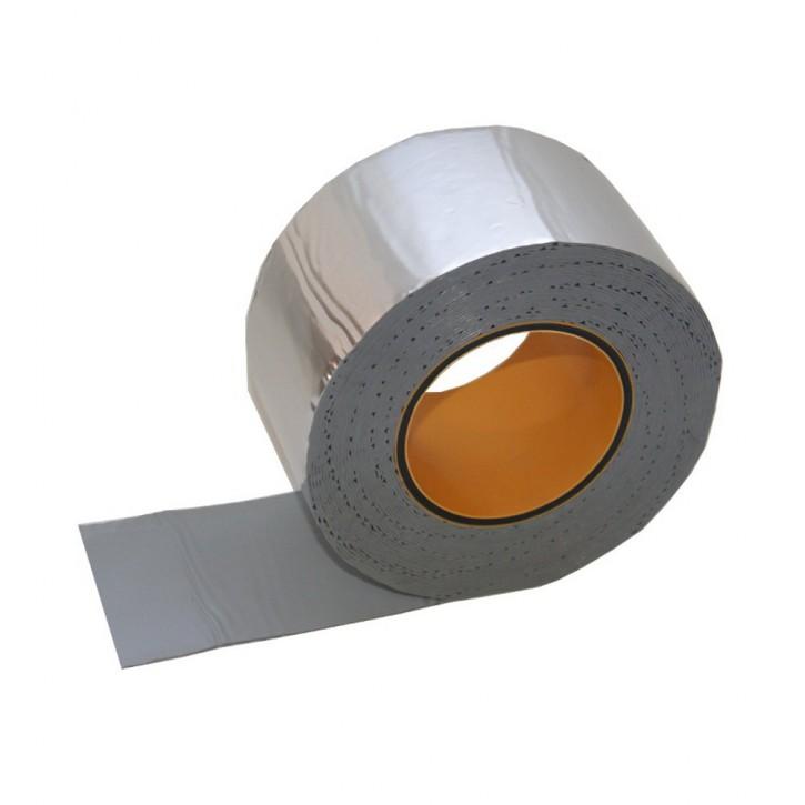 Vebatec Blitz Butyl Reparaturband Alu glänzend 75mm / 10 m