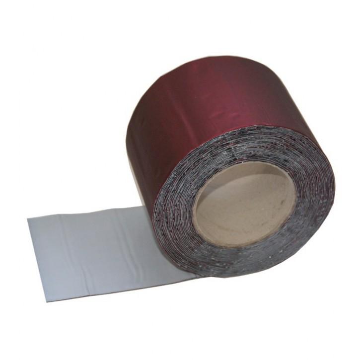 Vebatec Blitz Butyl Reparaturband Alu granatrot 100mm / 10m