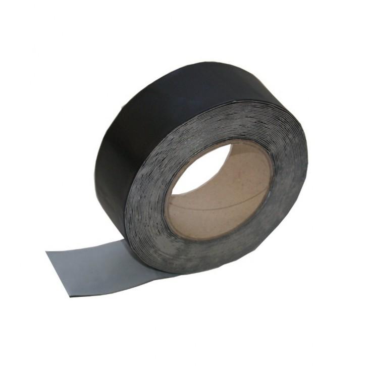 Vebatec Blitz Butyl Reparaturband Alu schwarz 50mm / 10 m
