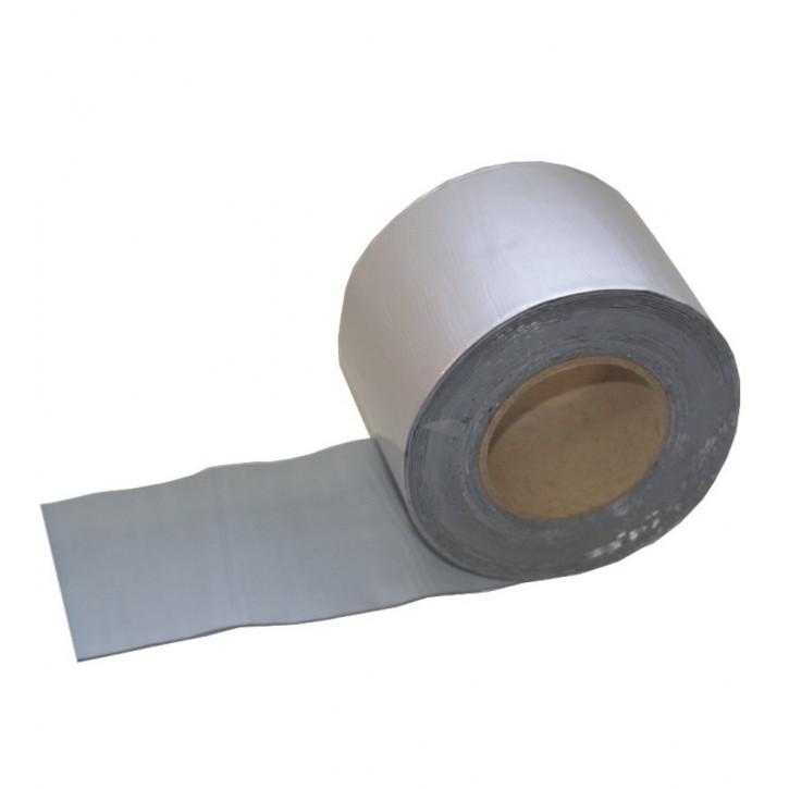 Vebatec Blitz Butyl Reparaturband Alu silbermatt 100mm / 10m