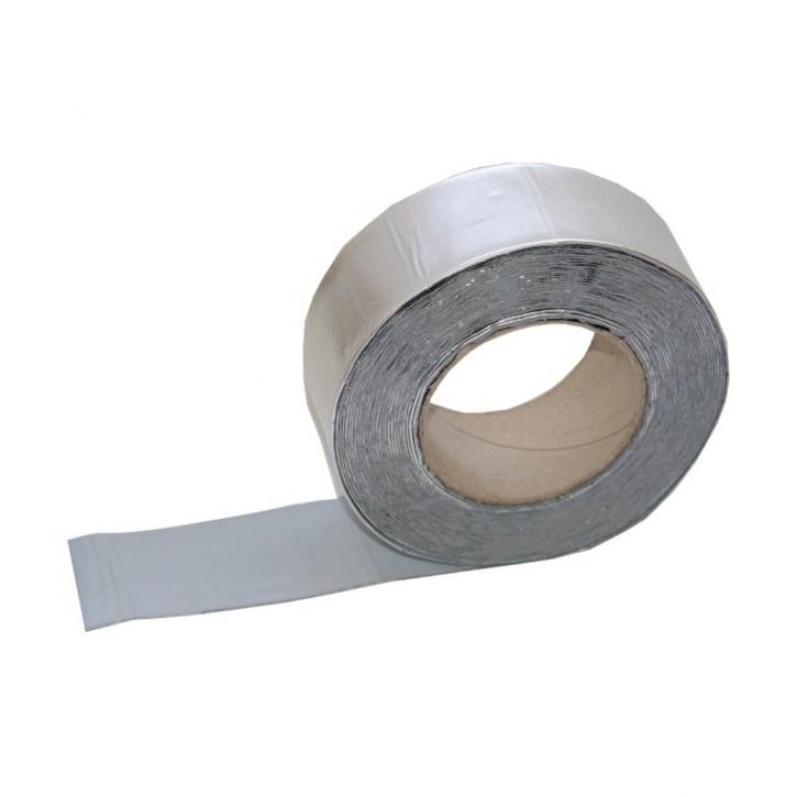 Vebatec Blitz Butyl Reparaturband Alu silbermatt 50mm / 10m