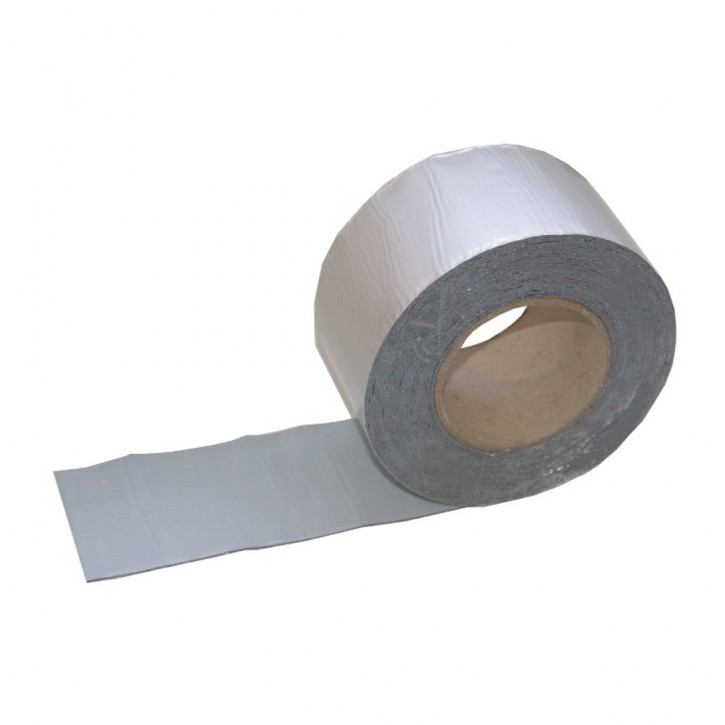 Vebatec Blitz Butyl Reparaturband Alu silbermatt 75mm / 10m