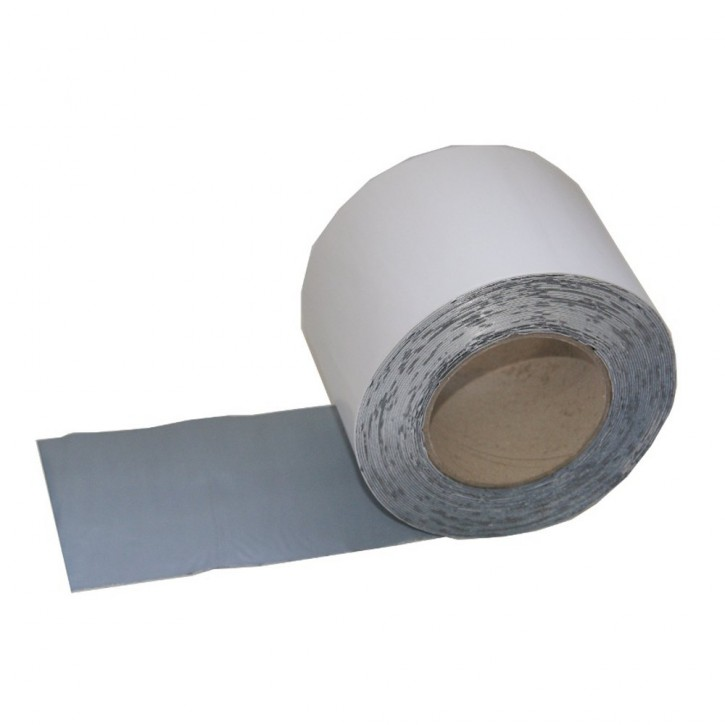 Vebatec Blitz Butyl Reparaturband Alu weiß 100mm / 10 m