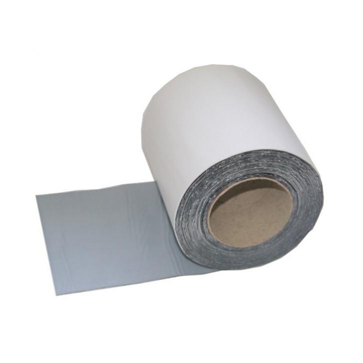 Vebatec Blitz Butyl Reparaturband Alu weiß 150mm / 10m