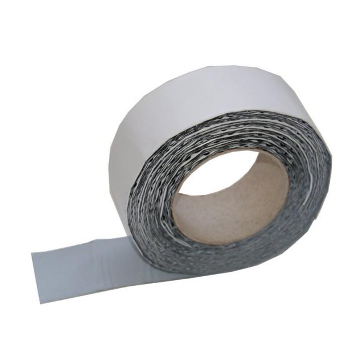 Vebatec Blitz Butyl Reparaturband Alu weiß 50mm / 10 m