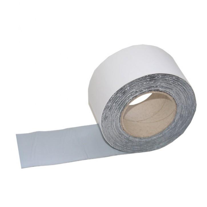 Vebatec Blitz Butyl Reparaturband Alu weiß 75mm / 10 m