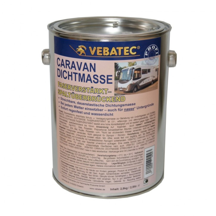 Vebatec Caravan Dichtmasse faserverstärkt 2,8kg