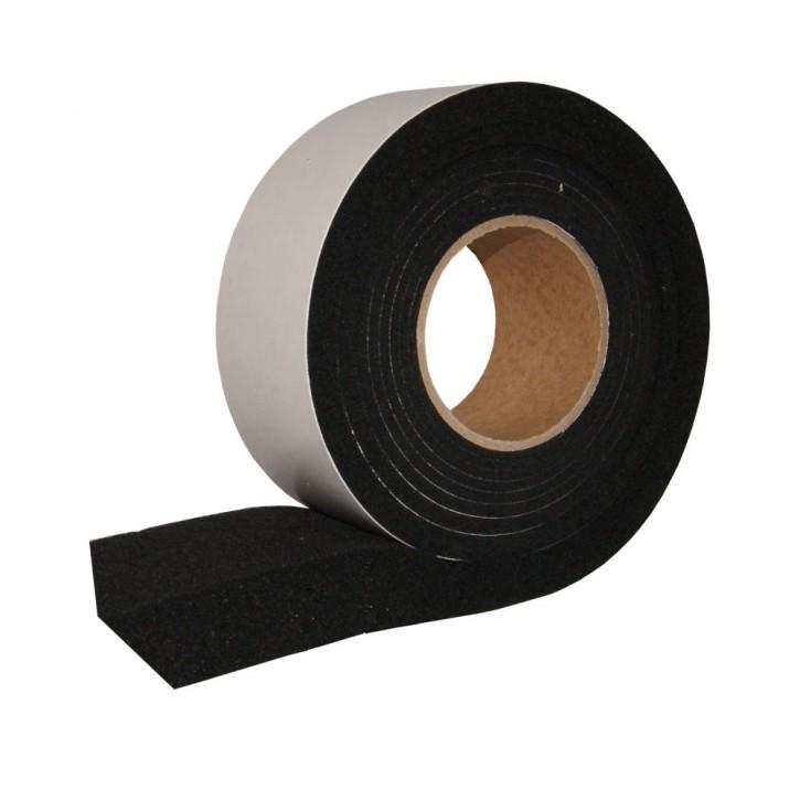 7x Kompriband Fugendichtband: 3 complete Light 64 (Länge 8m, Breite 64mm, für Fugenbreite 10-20mm) SCHWARZ