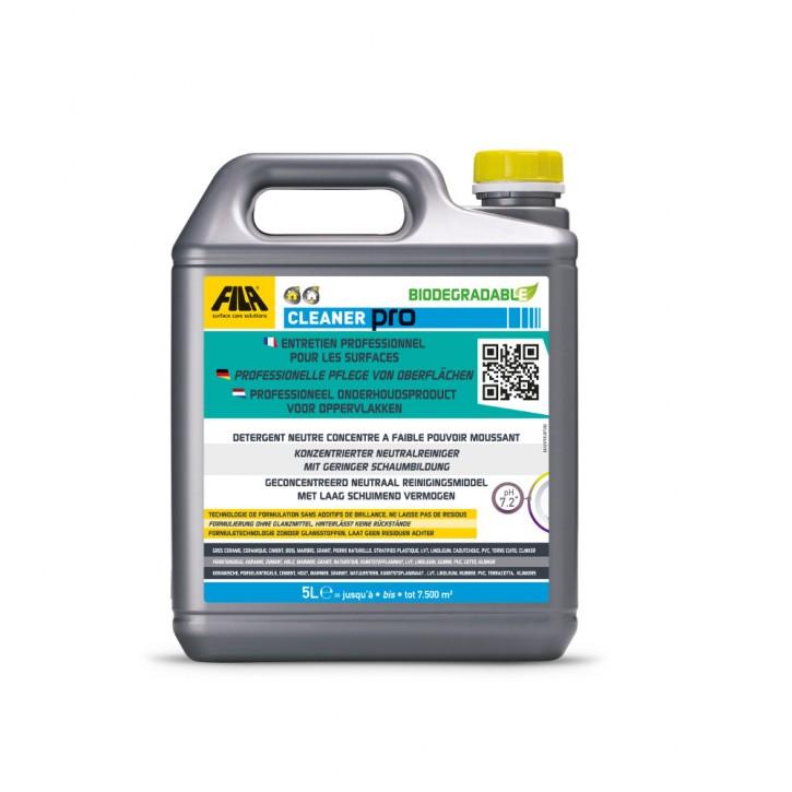 4x Fila Cleaner Pro Universalreiniger 5 Liter