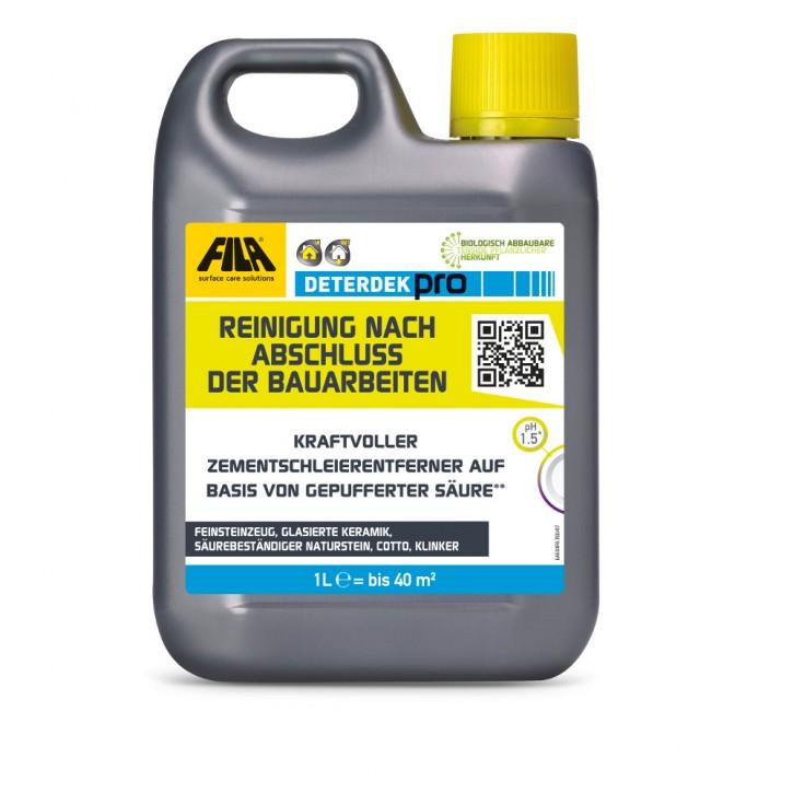 Fila Deterdek Pro Zementschleierentferner 1 Liter