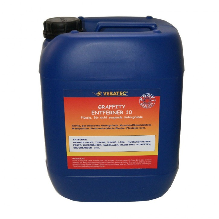 Vebatec Graffiti Entferner Nr. 10 - 10 Liter