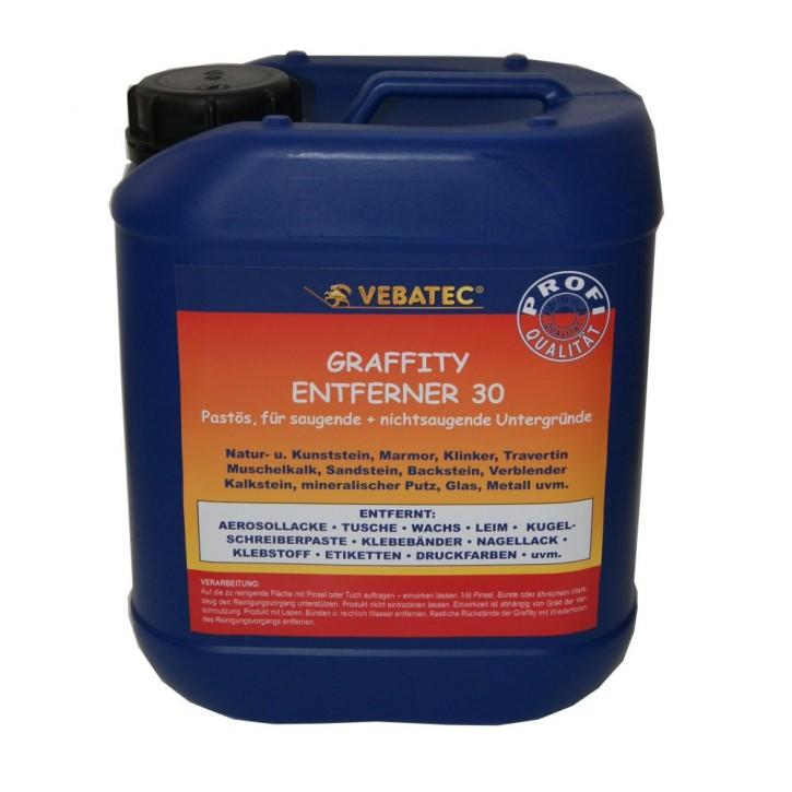 Vebatec Graffiti Entferner Nr. 30 - 5 Liter