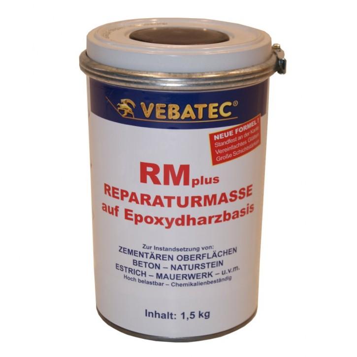 Vebatec - RMplus, gefüllte, 2-Komponenten Epoxi Reparaturmasse 1,5kg