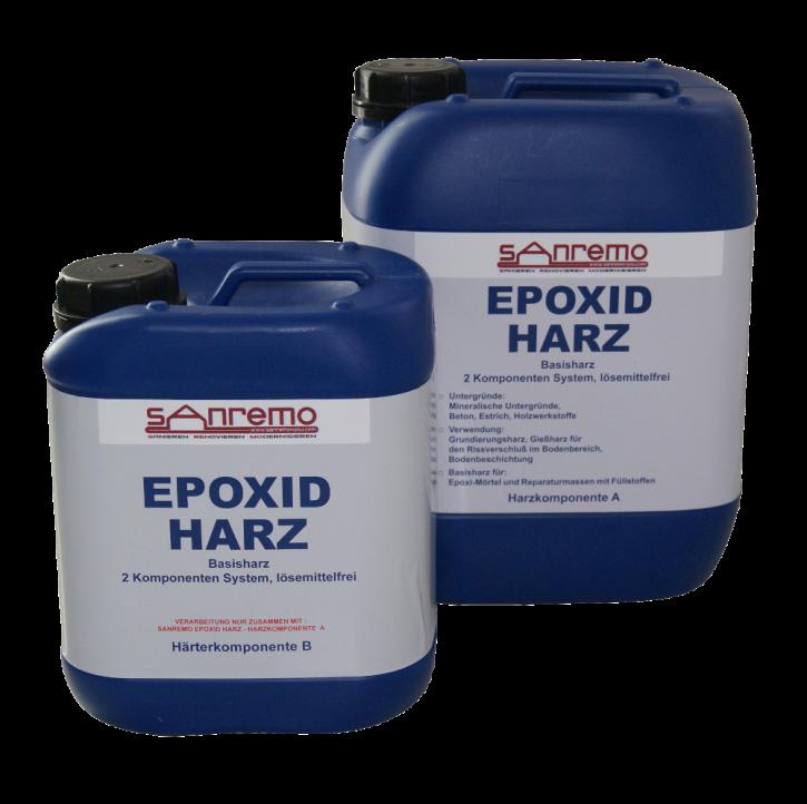 Sanremo Epoxidharz 5,4 Liter