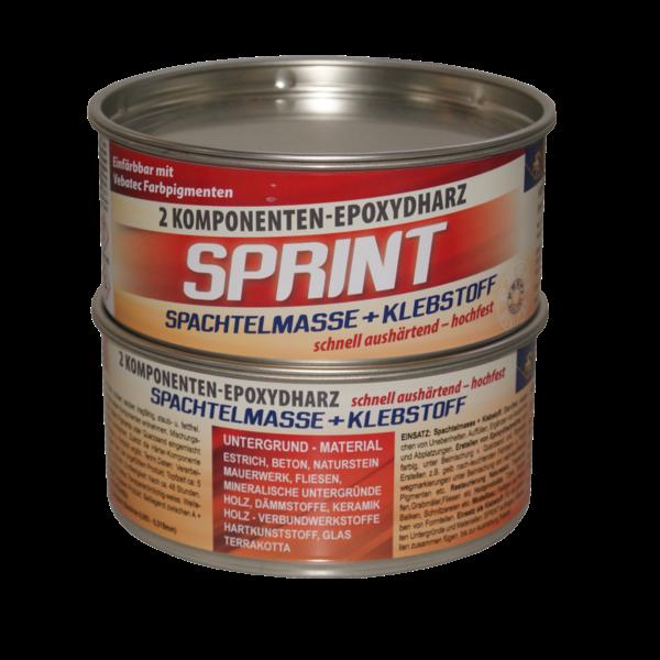 Vebatec - Sprint 2-Komponenten Spachtelmasse & Klebstoff 1kg