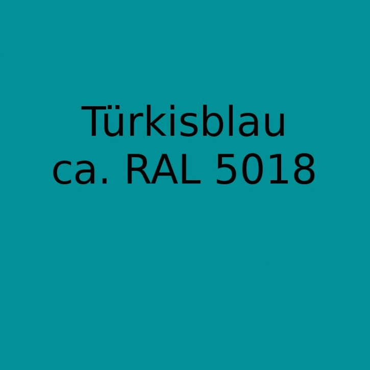 Vebatec - Pigmente Türkisblau für die Produkte: Sprint-Spachtelmasse, RMplus, VT xuper, Express standard