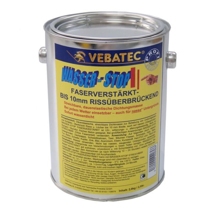 Vebatec Wasser-Stop faserverstärkt 2,8kg
